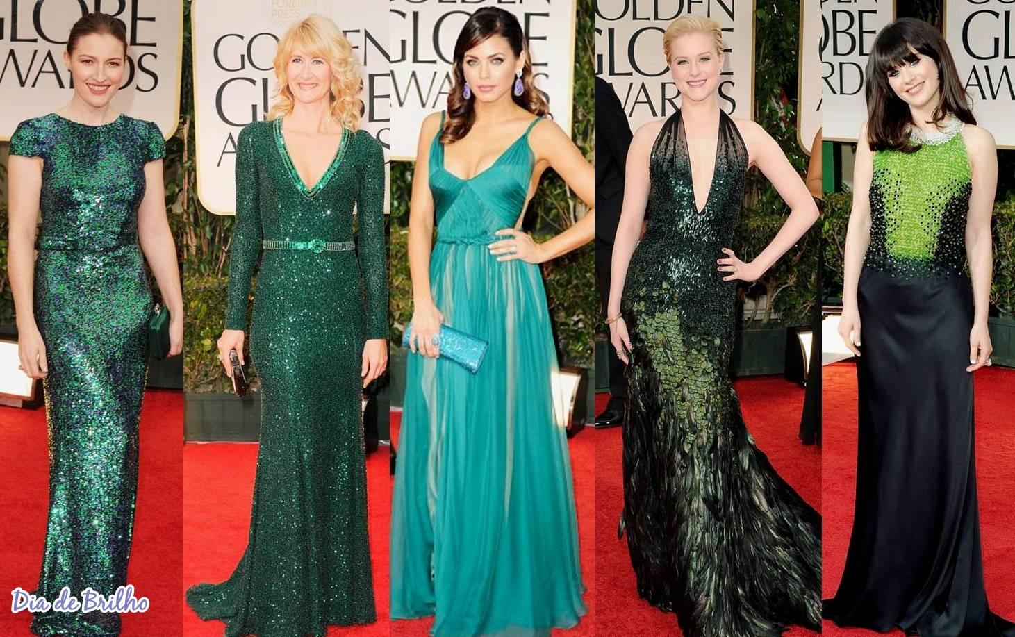 Cor de esmalte para vestido verde tiffany